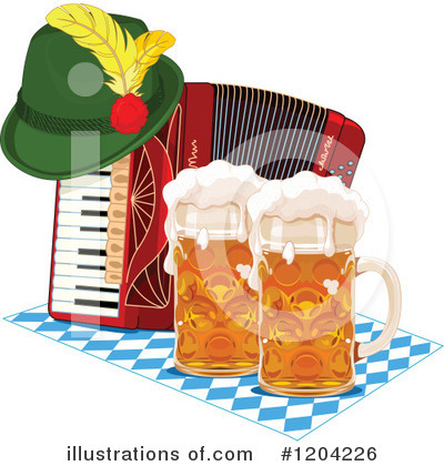Oktoberfest Clipart #1204226 by Pushkin