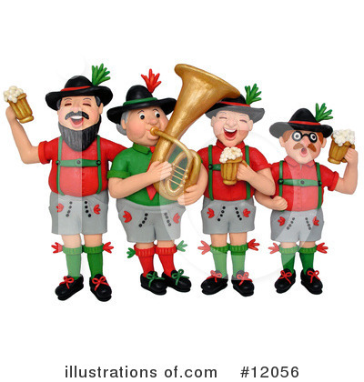 Royalty-Free (RF) Oktoberfest Clipart Illustration by Amy Vangsgard - Stock Sample #12056