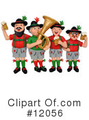 Royalty-Free (RF) Oktoberfest Clipart Illustration #12056
