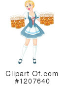 Oktoberfest Clipart #1207640 by Pushkin