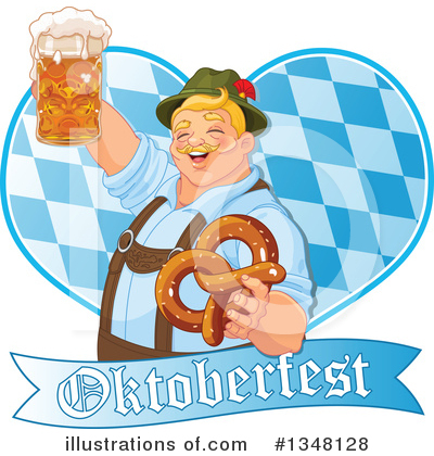Royalty-Free (RF) Oktoberfest Clipart Illustration by Pushkin - Stock Sample #1348128