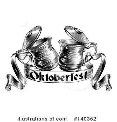 Oktoberfest Clipart #1403621 by AtStockIllustration