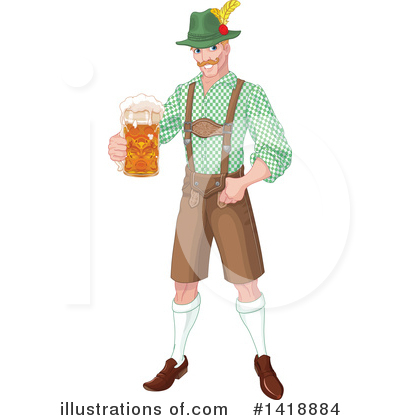 Oktoberfest Clipart #1418884 by Pushkin
