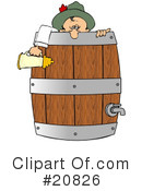 Royalty-Free (RF) Oktoberfest Clipart Illustration #20826