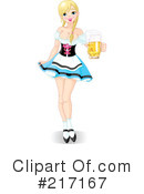 Royalty-Free (RF) oktoberfest Clipart Illustration #217167