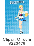 Royalty-Free (RF) Oktoberfest Clipart Illustration #223478