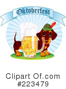 Royalty-Free (RF) Oktoberfest Clipart Illustration #223479