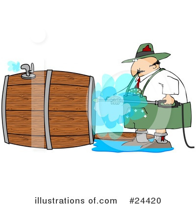 Pressure Washer Clipart #24420 by djart