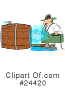 Royalty-Free (RF) Oktoberfest Clipart Illustration #24420