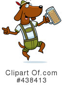 Royalty-Free (RF) Oktoberfest Clipart Illustration #438413