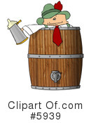 Royalty-Free (RF) Oktoberfest Clipart Illustration #5939