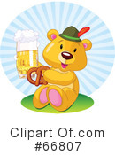 Royalty-Free (RF) Oktoberfest Clipart Illustration #66807