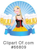 Royalty-Free (RF) Oktoberfest Clipart Illustration #66809