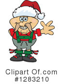 Oktoberfest Man Clipart #1283210 by Dennis Holmes Designs