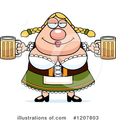 Oktoberfest Clipart #1207803 by Cory Thoman