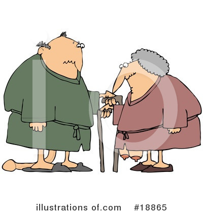 Old Couple Clipart #18865 by djart