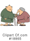 Royalty-Free (RF) Old Age Clipart Illustration #18865