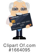 Old Business Man Clipart #1664095 by Morphart Creations