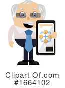 Old Business Man Clipart #1664102 by Morphart Creations