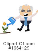 Old Business Man Clipart #1664129 by Morphart Creations