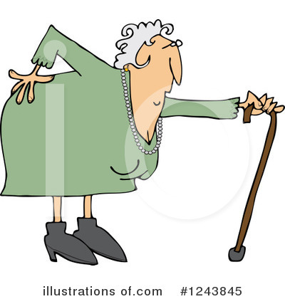 Old Woman Clipart #1243845 by djart