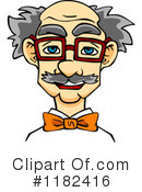 Old Man Clipart #1182416 by Vector Tradition SM