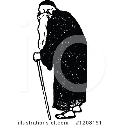 Old Man Clipart #1203151 by Prawny Vintage