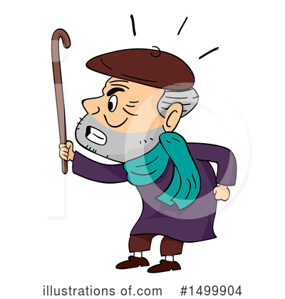 Senior Citizen Clipart #1499904 by BNP Design Studio