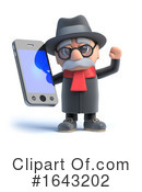 Old Man Clipart #1643202 by Steve Young