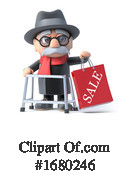 Old Man Clipart #1680246 by Steve Young