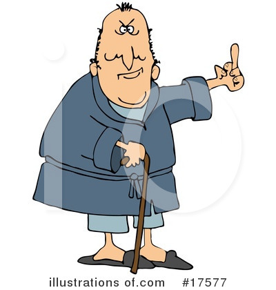 POOFness for Apr 10: ANOTHER ONE BITES THE DUST Royalty-free-old-man-clipart-illustration-17577