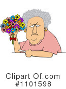 Old Woman Clipart #1101598 by djart