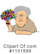 Old Woman Clipart #1101599 by djart
