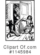 Royalty-Free (RF) Old Woman Clipart Illustration #1145984