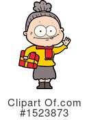 Old Woman Clipart #1523873 by lineartestpilot