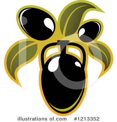 Olive Clipart #1213352 by Vector Tradition SM