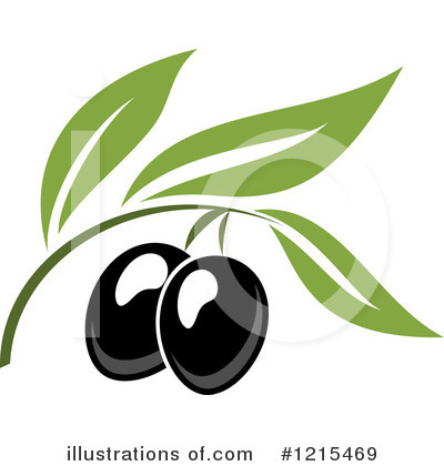 Olive Clipart #1215469 by Vector Tradition SM