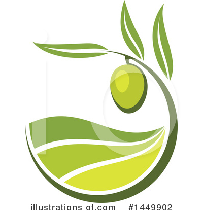 Olive Clipart #1449902 by Vector Tradition SM