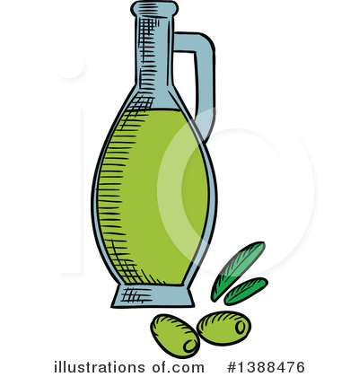 Olive Clipart #1388476 by Vector Tradition SM