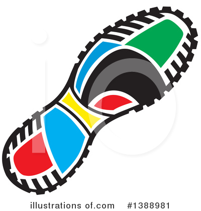 Shoes Clipart #1388981 by Johnny Sajem
