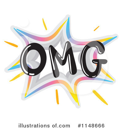 Royalty-Free (RF) Omg Clipart Illustration by colematt - Stock Sample ...