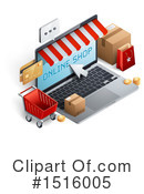 Online Shopping Clipart #1516005 by beboy