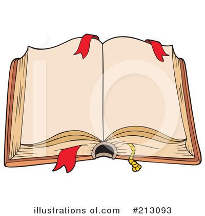 Open Book Clip Art