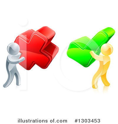 Check Mark Clipart #1303453 by AtStockIllustration