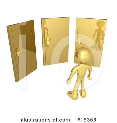 Door Clipart #15368 by 3poD