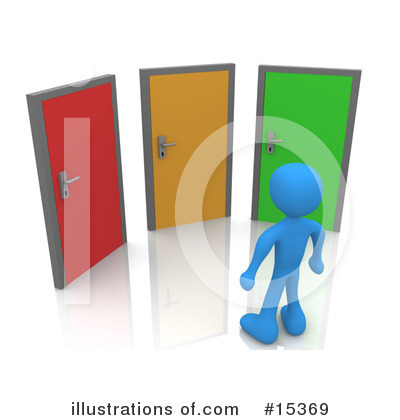 Door Clipart #15369 by 3poD