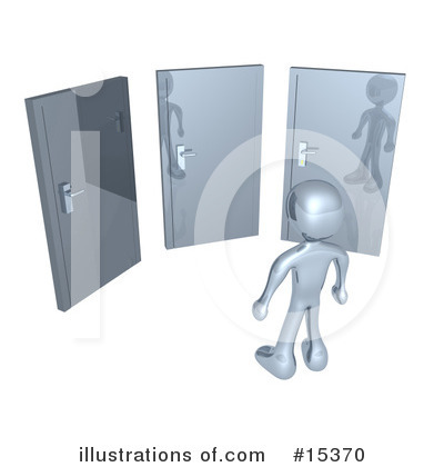 Door Clipart #15370 by 3poD