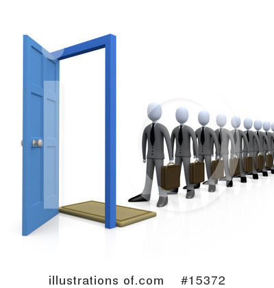 Door Clipart #15372 by 3poD
