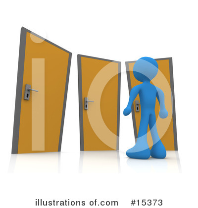 Door Clipart #15373 by 3poD