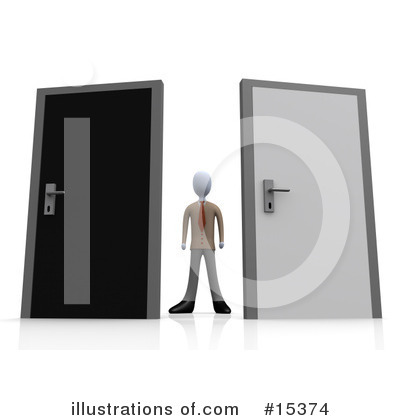 Door Clipart #15374 by 3poD